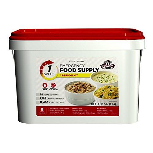 Augason Farms 1-Week 1-Person Emergency Food Supply Kit 6 lbs 15 oz ()
