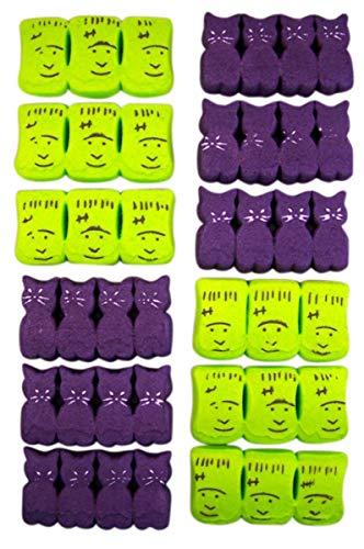 Halloween Peeps Variety Pack with Monsters and Spooky Cats, 3.375 oz, Pack of -