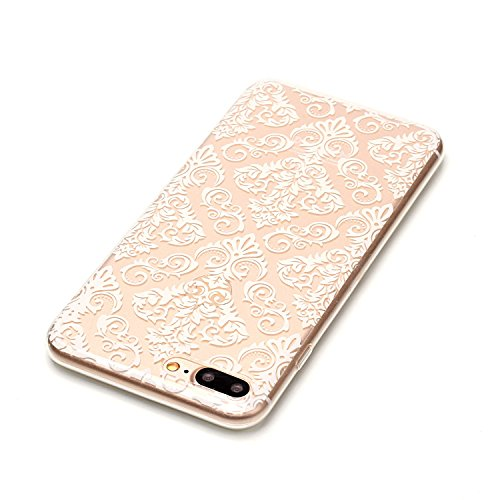 Custodia iPhone 7 Plus / iPhone 8 Plus , LH TPU Trasparente Silicone Cristallo Morbido Case Cover Custodie per Apple iPhone 7 Plus / iPhone 8 Plus 5.5