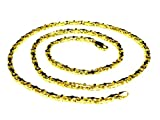 10k Solid Yellow Gold Anchor Mariner Link Chain Necklace 3.1 MM 22 grams 24''