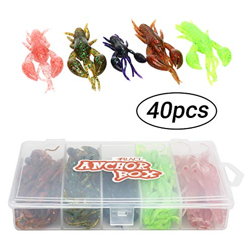 5pcs Topwater Frog Fishing Lures Soft Baits for Bass Pike Snakehead Tackle