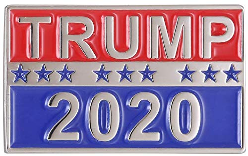 (Donald Trump For President 2020 Soft Enamel Pin Badge - Shipped from USA)