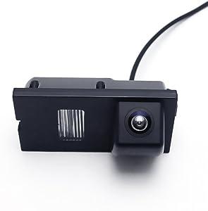 Backup Camera for Car, Waterproof Rear-view License Plate Car Rear Reverse Parking Camera for Discovery 3 Range Rover Sport Freelander Freelander 2