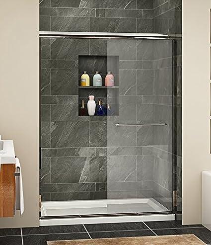 Sunny Shower B020 Semi Frameless Glass Bypass 2 Way Sliding Glass