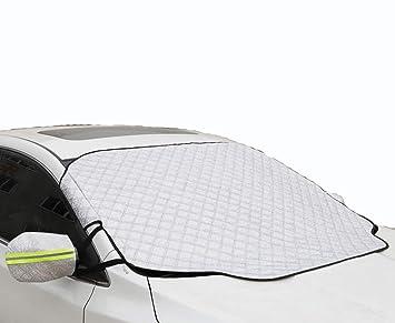 GAOY-CAR COVERS Mazda CX-5 Frente de Coche de Invierno Parabrisas Cubierta Anticongelante Ropa de Coche Cubierta de Coche Medio Cuerpo Nieve Anti-Escarcha ...