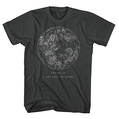 Coldplay - A Sky Full Of Stars - Adult T-Shirt - - Hills Buckland
