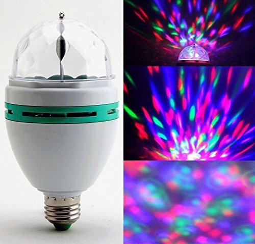 LED Rotating Disco Party Bulb Only $6.49