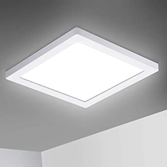 Oeegoo Deckenleuchte, Led Deckenlampe 8W 8LM, LED Deckenleuchte  Wohnzimmer Schlafzimmer Kinderzimmer Küche Büro Flur Balkon Ultradünne  8.8cm