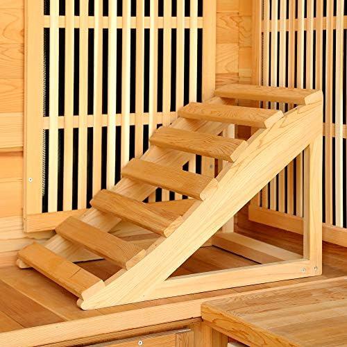 Radiant Saunas 4-5 Personas Cedro Infrarrojo Sauna con 9 ...