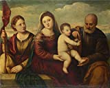 Canvas Prints Of Oil Painting ' Bernardino Licinio - The Madonna And Child - Best Reviews Guide