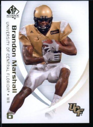 2010 Upper Deck SP Authentic NCAA Football Card #11 Brandon Marshall