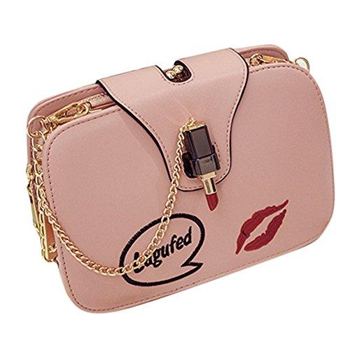 Fanmingsidi - Bolso mochila  para mujer rosa rosa rosa