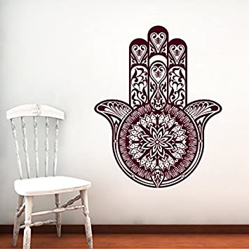 Wall Decal Vinyl Sticker Decals Home Decor Hamsa Hand Fatima ...