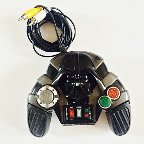 Star Wars Episode III - Plug it in and Play Video Game (Darth Vader Controller)]()
