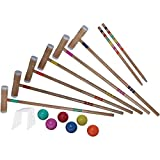 Verus Sports Expert Emerald Adjustable Croquet Set