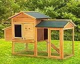 66 Inch Wood Chicken Coop Chicken House Indoor