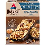 Atkins Harvest Trail Snack Bar, Dark Chocolate Sea Salt Caramel, 9 Count