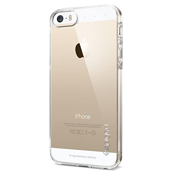 wholesale dealer f687e dff94 Amazon.com: Spigen Ultra Fit iPhone 5S / 5 Case with for iPhone 5S ...