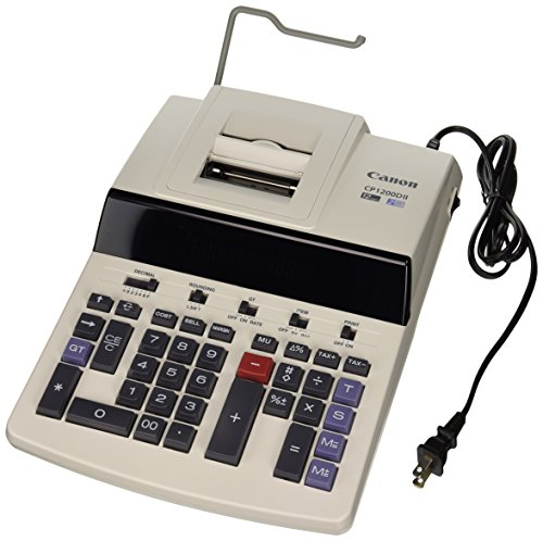 (Canon Office Products CP1200DII Desktop Printing Calculator)