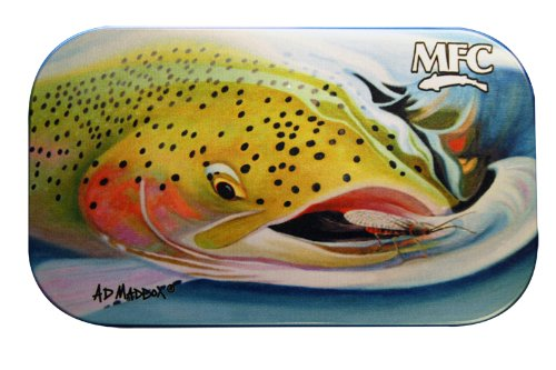 MFC Maddox Aluminum Fly Box Foam, Salmon Snack