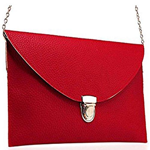 Red Satchel Handbags - 8