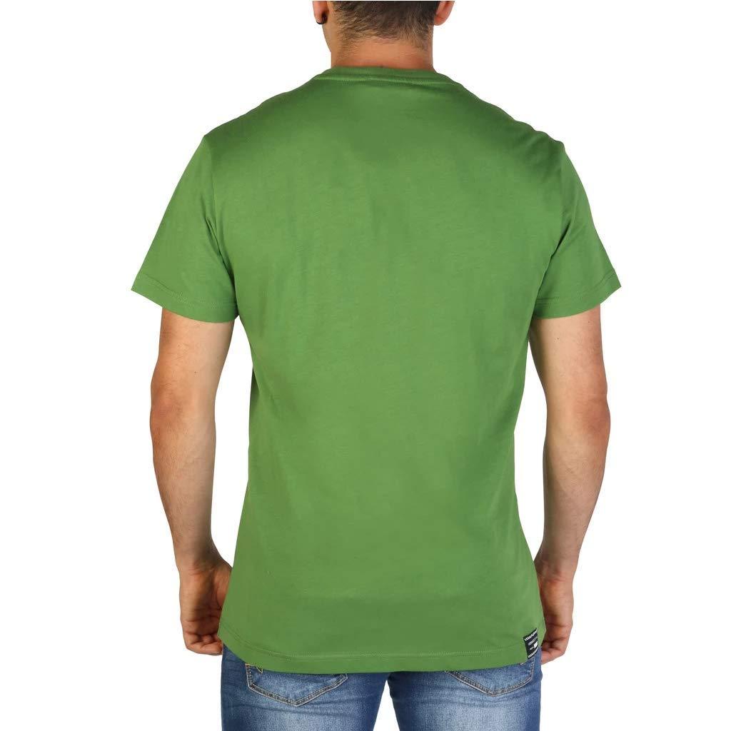 Versace Men Green T-Shirts