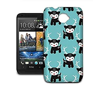 Phone Case For HTC Desire 601 - Rudolph the Red Nosed Reindeer Snap-On Slim