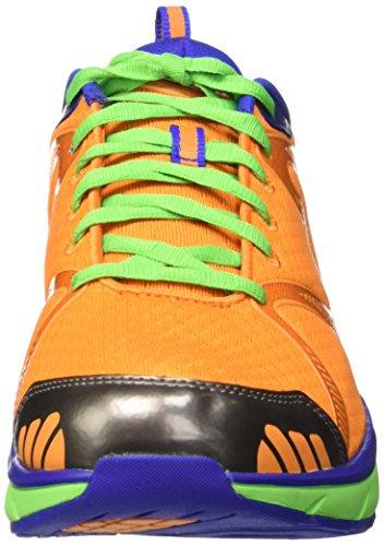 MBT Simba 5, Scarpe da Fitness Uomo Arancione (Blue/Arancione)