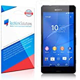 TechLink Solutions UltraClear (6-Pack) - Sony Xperia Z3 Compact Screen Protector (Front) and Back Protector / Premium HD Crystal Clear Shield /Anti-Bubble & Anti-Fingerprint PET Film with Lifetime Warranty