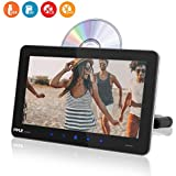 Universal Car Headrest Mount Monitor - 9.4 Inch Vehicle Multimedia DVD Player - Audio Video Entertainment System w/HDMI Input & Wide TV LCD Digital Screen - Mounting Bracket Included - Pyle PLDHR924