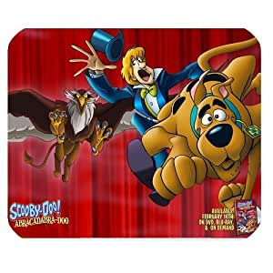 Mystic Zone Personalized Scooby Doo Rectangle Mouse Pad (Black)