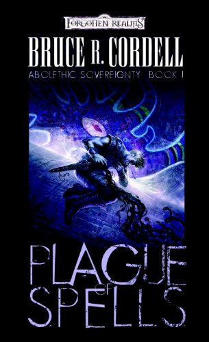book cover of Plague of Spells