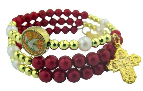 Catholc Confirmation Scapular Miraculous Bracelet product image