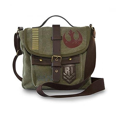Loungefly x Star Wars: Rogue One Rebel Alliance Crossbody Messenger Bag (Star Wars Rebel Bag)