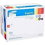 Samsung CLT-P407C/XAA Value Pack - Black, Cyan, Magenta, Yellow 1 each (CLP-325W, CLX-3185, CLX-3185FW)