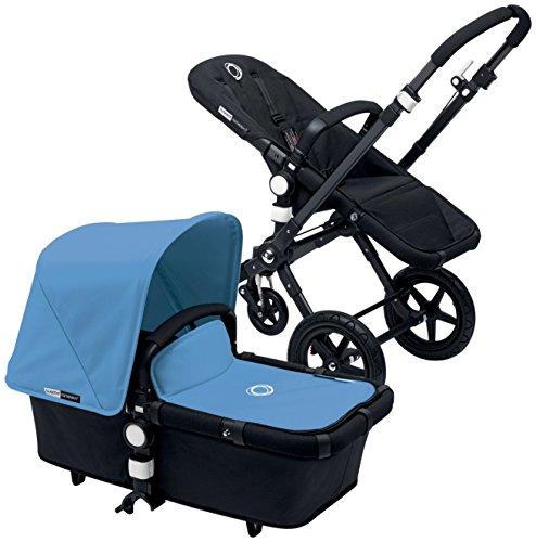 Bugaboo Cameleon3 Complete Stroller - Ice Blue - Black