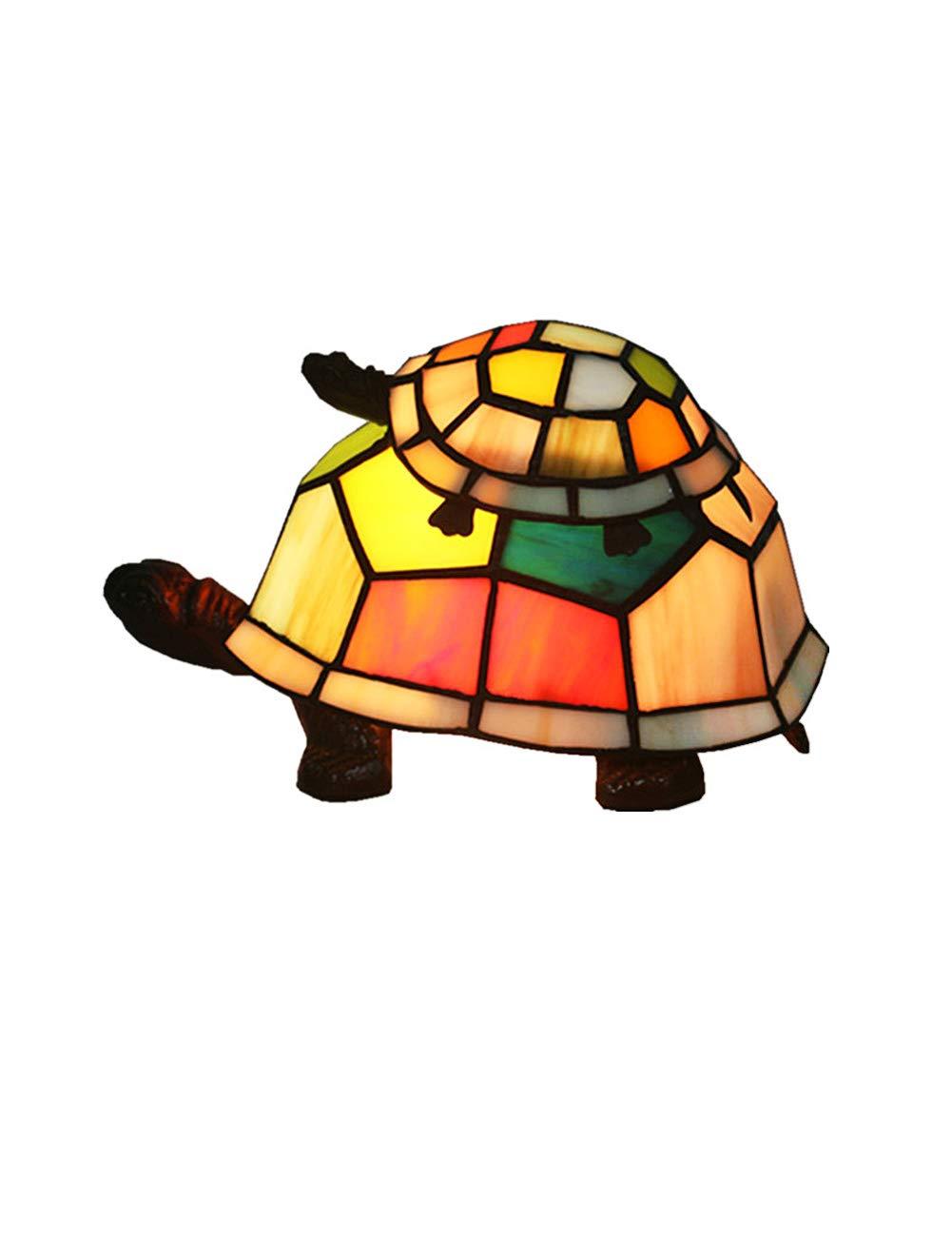 Fonly Retro Speziell für grenzüberschreitende Europäische Original Fashion Tortoise Night Lamp Lovely Kinderzimmer (Farbe   B)