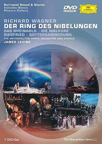 Wagner: Der Ring des Nibelungen - Complete Ring Cycle (Levine, Metropolitan Opera) (Set Orch)