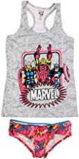 c5fe886ee914c Womens Junior Avengers 2pc Cami and Panty Set ...