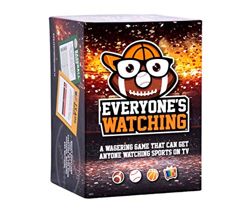 Everyone's Watching - A Sports Board Game That Makes TV Sports Better ()