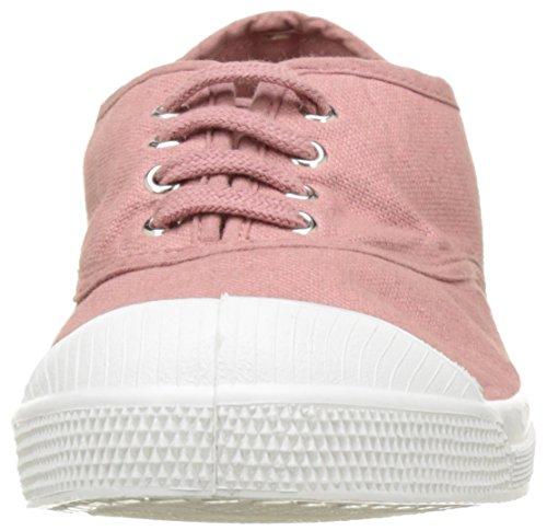 Bensimon Tennis Lacet Femme - Botas Mujer Rosa (Vieux Rose)