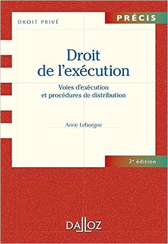 Livres gratuits Procédures civiles d'exécution - 2e éd.: Précis pdf, epub ebook