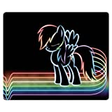 26x21cm 10x8inch game Mousepad cloth * rubber Rough Premium My Little Pony Friendship Is Magic