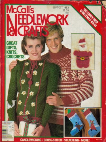 McCall's Needlwork & Crafts (Candlewicking, Cross-Stitch, Stenciling, More, Sept/Oct 1983 - Vol 28, No 5)