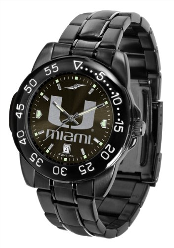 NCAA Miami Hurricanes Fantom Sport Watch - Black