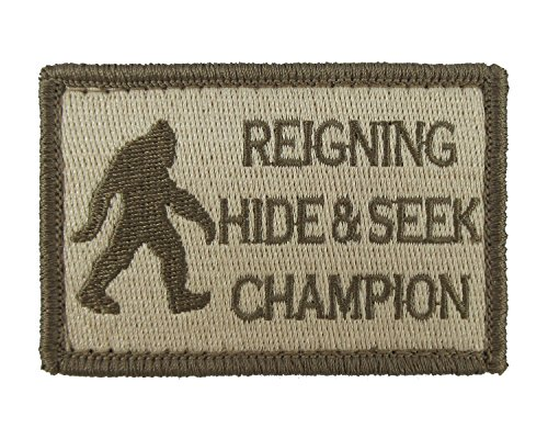 Reigning Champion Embroidered Morale Tags