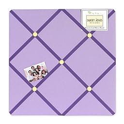 Danielle\'s Daisies Fabric Memory/Memo Photo Bulletin Board by Sweet Jojo Designs