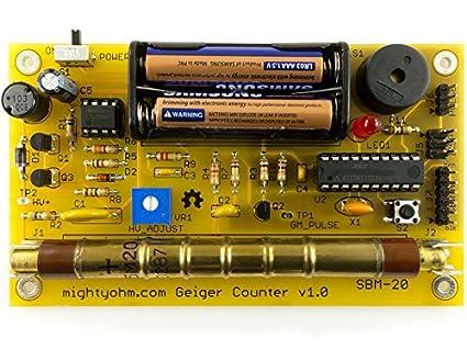 Adafruit Geiger counter Kit – Radiation Sensor [ada483]