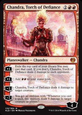 Magic: the Gathering - Chandra, Torch of Defiance (110/264) - Kaladesh