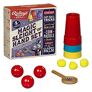 Ridley's Sleight of Hand Magic and Tricks Set